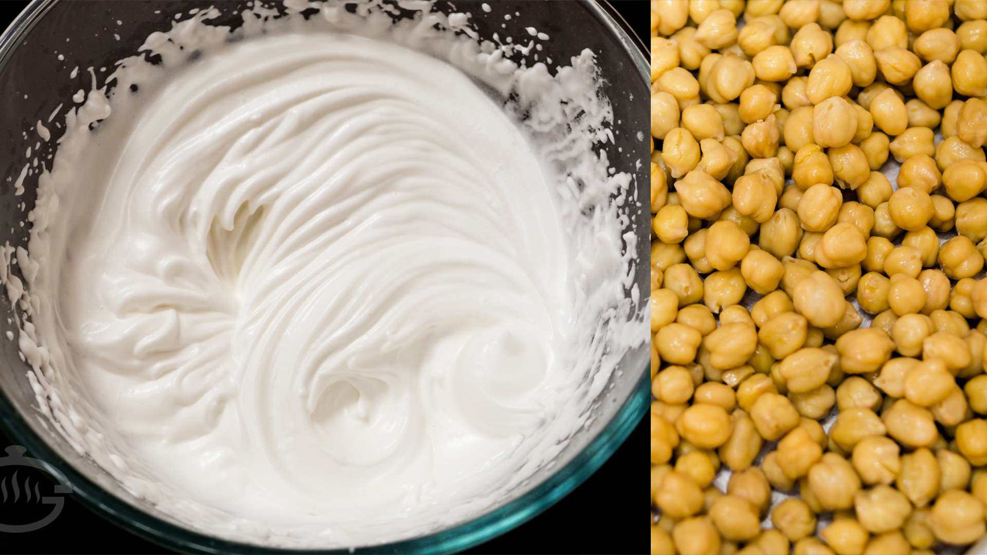 Make Whipped Cream from Chickpeas / Cholle | Aquafaba – Eggless Recipes Series