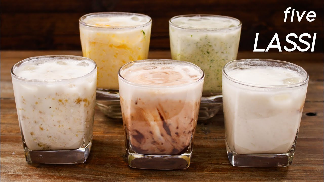 5 Lassi Recipes – Easy and Different Summer Drink Flavors