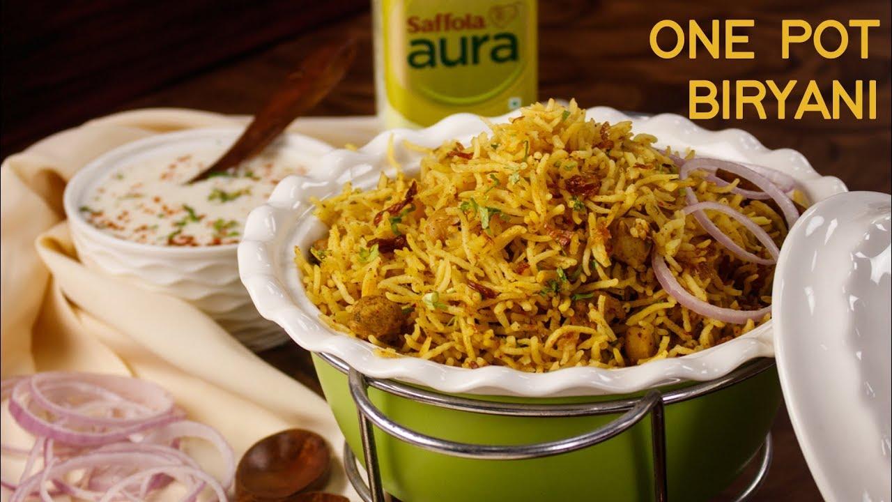Kabuli Chana Biryani – One Pot Easy Dinner Recipes