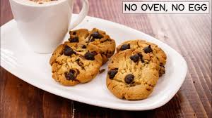 Choco Chip Cookies In Cooker – Eggless Chocolate Biscuits Without Oven – CookingShooking Recipe