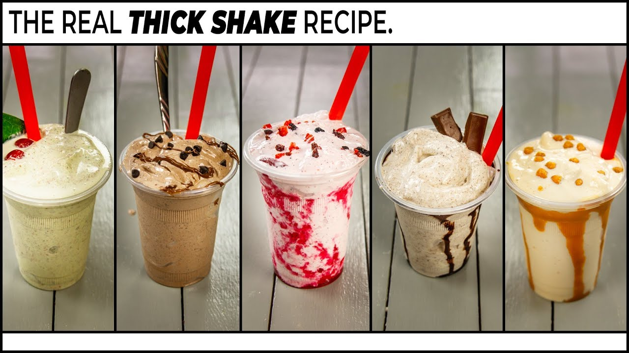 ThickShakes Recipe – 5 Really Thick MilkShake – CookingShooking