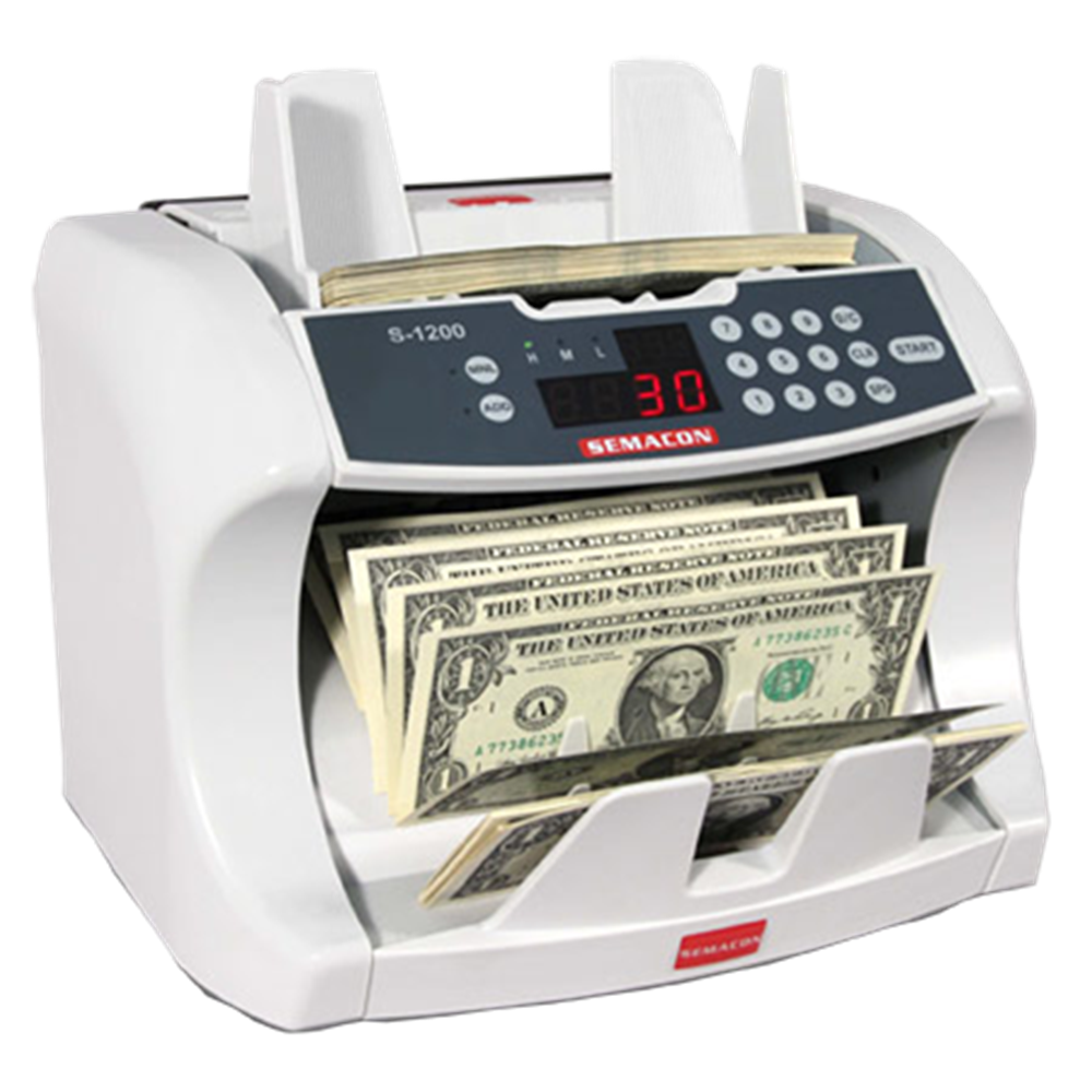 Bank Grade Currency Counter Bank Grade Currency Counter, S-1200