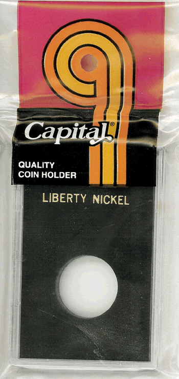 Liberty Nickel Capital Plastics Coin Holder Caps Black 2x3 Liberty Nickel Capital Plastics Coin Holder Caps Black, Capital, Caps