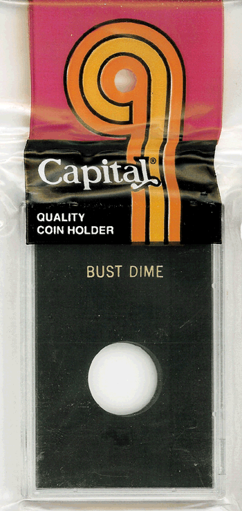 Bust Dime Capital Plastics Coin Holder Caps White 2x3 Bust Dime Capital Plastics Coin Holder Caps White, Capital, Caps