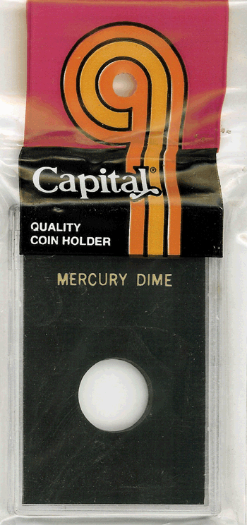 Mercury Dime Capital Plastics Coin Holder Caps Black 2x3 Mercury Dime Capital Plastics Coin Holder Caps Black, Capital, Caps