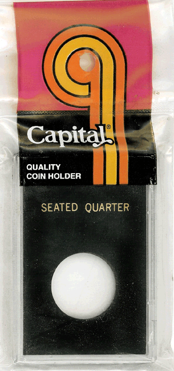 Standing Liberty Quarter Capital Plastics Coin Holder Caps Black 2x3 Standing Liberty Quarter Capital Plastics Coin Holder Caps Black, Capital, Caps