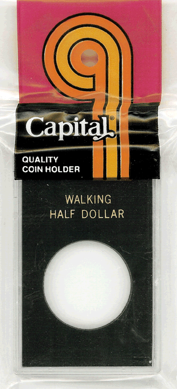 Walking Liberty Half Dollar Capital Plastics Coin Holder Caps Black 2x3 Walking Liberty Half Dollar Capital Plastics Coin Holder Caps Black, Capital, Caps