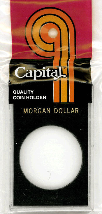 Morgan Dollar Capital Plastics Coin Holder Caps Black 2x3 Morgan Dollar Capital Plastics Coin Holder Caps Black, Capital, Caps