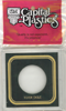 1 oz Silver Eagle Capital Plastics Coin Holder VPX Black 3.3x3.3 1 oz Silver Eagle Capital Plastics Coin Holder VPX Black, Capital, VPX