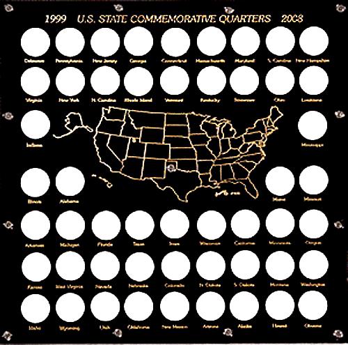 1999-2008 U.S. State Commemorative Quarters