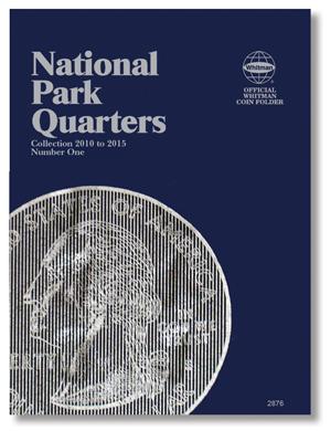 Whitman National Park Quarter Folder 2010 - 2015