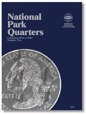 Whitman National Park Quarters Folder 2016 - 2021