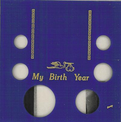 My Birth Year 6 Coin Silver Eagle Capital Plastics Coin Holder Blue Galaxy Galaxy My Birth Year 6 Coin Silver Eagle Capital Plastics Coin Holder Blue Galaxy, Capital, GA6SEBY
