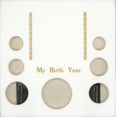 My Birth Year 7 Coin Capital Plastics Coin Holder White Galaxy Galaxy My Birth Year 7 Coin Capital Plastics Coin Holder White Galaxy, Capital, GA7BY