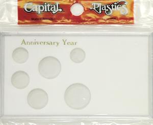 Anniversary Year 6 Coin Capital Plastics Coin Holder Meteor White Meteor Anniversary Year 6 Coin Capital Plastics Coin Holder Meteor White, Capital, MA6AAY