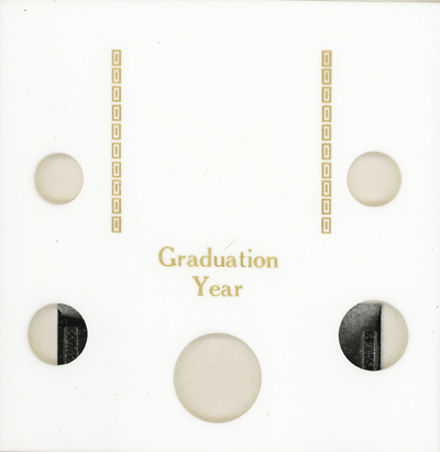Graduation Year Capital Plastics Coin Holder White Galaxy Galaxy Graduation Year Capital Plastics Coin Holder White Galaxy, Capital, GA5GY