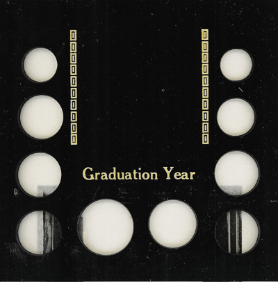 Graduation Year 10 Coin / Photo Capital Plastics Coin Holder Black Galaxy Graduation Year 10 Coin / Photo Capital Plastics Coin Holder Black, Capital, GA10GY