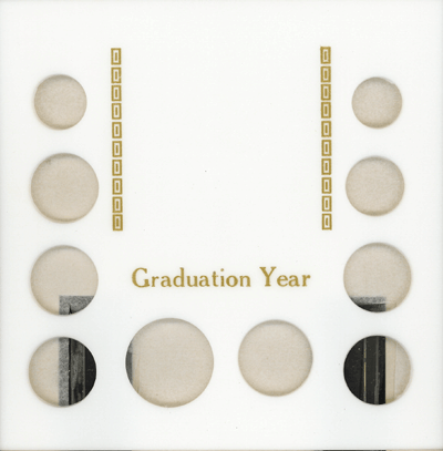 Graduation Year 10 Coin / Photo Capital Plastics Coin Holder White Galaxy Graduation Year 10 Coin / Photo Capital Plastics Coin Holder White, Capital, GA10GY