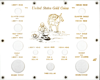 U.S. Gold Type Set  8x10 U.S. Gold Type Set , Capital, 460G-W