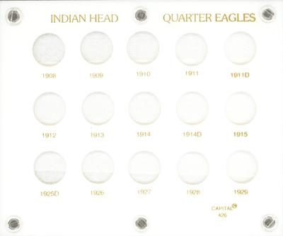 Indian Head Quarter Eagles  5x6 Indian Head Quarter Eagles , Capital, 426