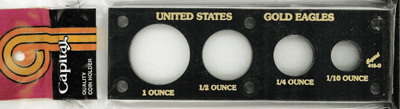 U.S. Gold Eagles  2x6 U.S. Gold Eagles , Capital, 415G