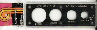 U.S. Platinum Eagles  2x6 U.S. Platinum Eagles , Capital, 415P