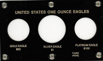 U.S. Eagles  3.5x6 U.S. Eagles , Capital, 434E