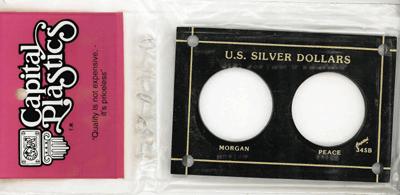 U.S. Silver Dollars  3x4.5 U.S. Silver Dollars , Capital, 345B