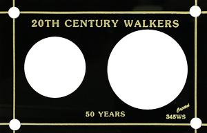 20th Century Walker  3x4.5 20th Century Walker , Capital, 345WS