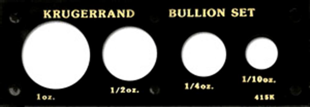 Krugerranderrand Bullion Set  2x6 Krugerranderrand Bullion Set , Capital, 415K
