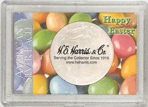 Happy Easter ASE HE Harris 2x3 Frosty Case 2x3 Happy Easter ASE HE Harris 2x3 Frosty Case, HE Harris & Co, 1678