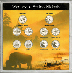 Westward Series Nickel 10 Port HE Harris Frosty Case 6.5x6.5 Westward Series Nickel 10 Port HE Harris Frosty Case, HE Harris & Co, 90922216