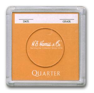 H.E. Harris 2 x 2 Snaplocks for Quarters - 25 PK