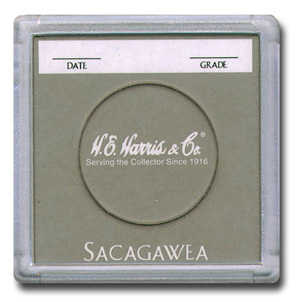 Sacagawea 2x2 Snaplock Coin Holder HE Harris Bulk Box 2x2 Sacagawea 2x2 Snaplock Coin Holder HE Harris Bulk Box, HE Harris & Co, 90921152