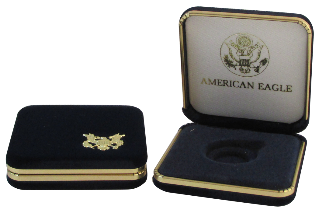 US Mint Gold Eagle Presentation Box 1 Ounce Gold Eagle, Presentation Box, U.S. Mint, GBA, us mint, gold, coin