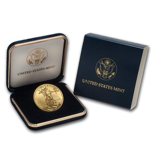 Official U.S. Mint Display Box - 1/2 oz American Gold Eagle