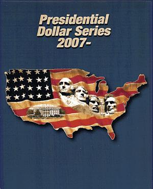 Presidential Dollar Supersafe Coin Album Single Mint Mark Presidential Dollar Supersafe Coin Album Single Mint Mark, Supersafe, PD50