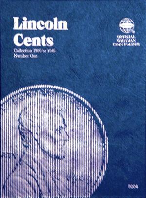 Whitman Coin Folder - Lincoln Cents 1909-1940