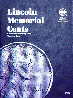 Whitman Coin Folder - Lincoln Memorial Cents 1999 to Present