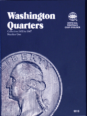 Washington Quarters Coin Folder 1932 - 1947
