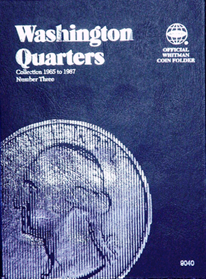 Whitman Washington Quarters Coin Folder 1965 - 1987