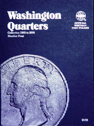 Whitman Washington Quarters Coin Folder 1988 - 1998