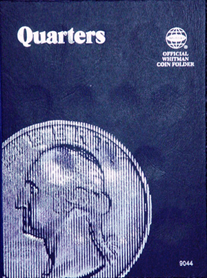 Whitman Plain Quarter Coin Folder 6x7.75