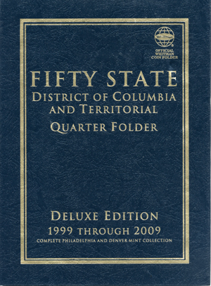 Quarter Coin Folder Whitman 50 State & Territories