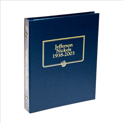 Jefferson Nickels Whitman Coin album
