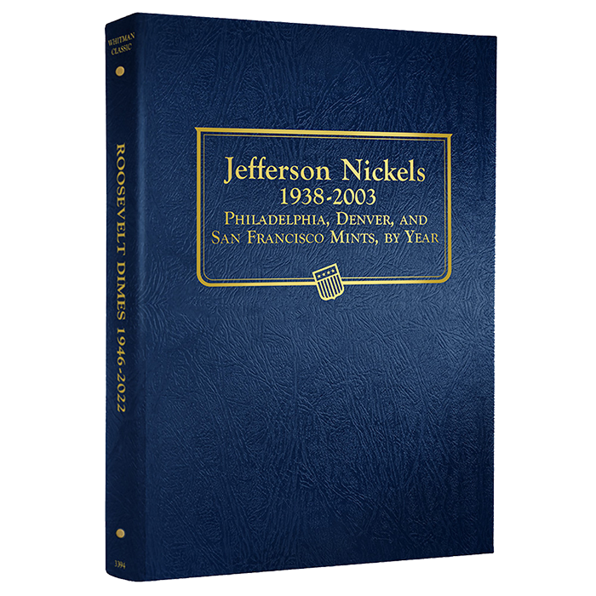Whitman Jefferson Nickels Album 1938 - 2003