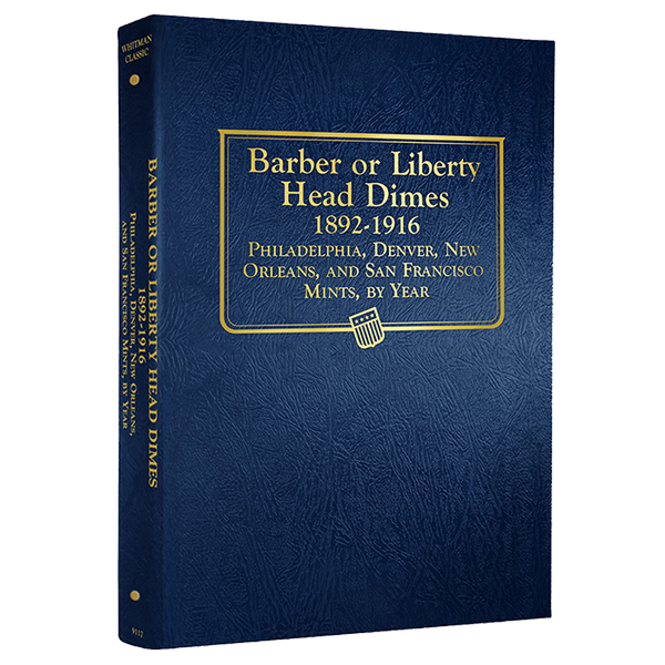 Barber Dimes Whitman Coin Album Barber Dimes Whitman Coin Album, Whitman, 9117