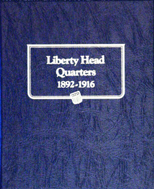 Barber Quarters Whitman Coin Album Barber Quarters Whitman Coin Album, Whitman, 9120