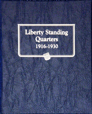 Standing Liberty Quarters Whitman Coin Album Standing Liberty Quarters Whitman Coin Album, Whitman, 9121