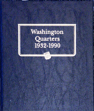 Washington Quarters Whitman Coin Album 1932 Washington Quarters Whitman Coin Album 1932, Whitman, 9122